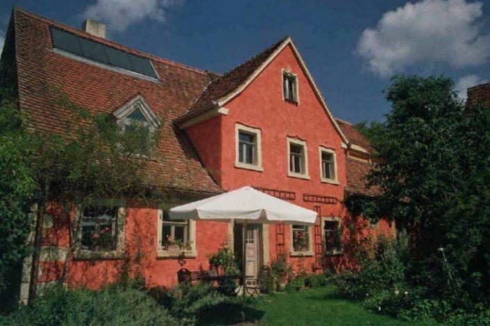 Stille und Romantik im Holunderhof