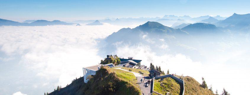 Bio Hotel im Gebirge
