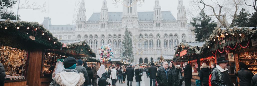 Weihnachtmarkt in Wien