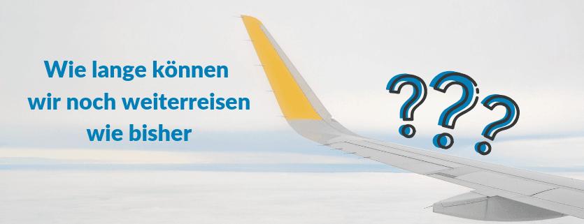 Bild von einem Flugzeug mit Schriftzug